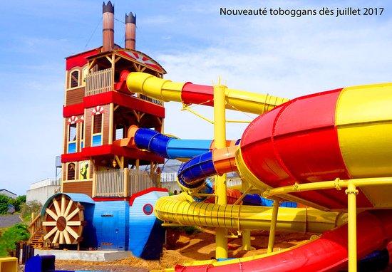 Benouville, France: Notre futur toboggan