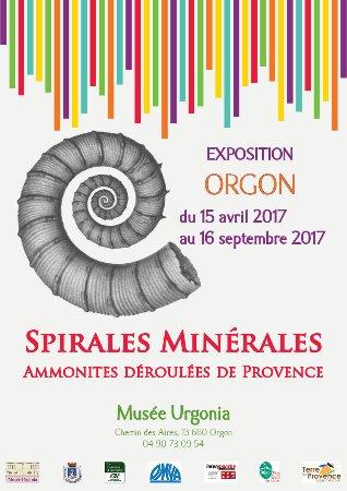 Orgon, Francia: Nouvelle exposition au Musée Urgonia du 15 avril au 16 spetembre 2017.