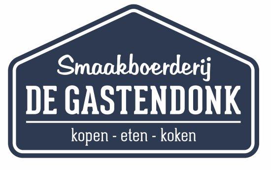 Horst, The Netherlands: Logo Smaakboerderij De Gastendonk. Kopen - Eten - Koken