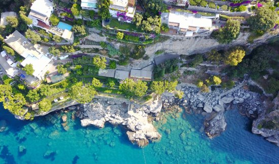 Villa Tre Ville: Vues de l'hotel et d'une partie du jardin
