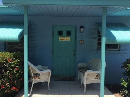 Long Key, FL: COTTAGE ENTRANCE