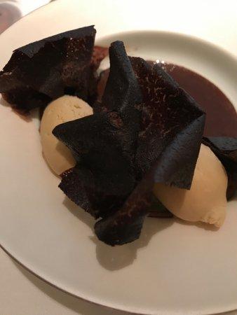 Alain Ducasse at The Dorchester: Chocolate desert