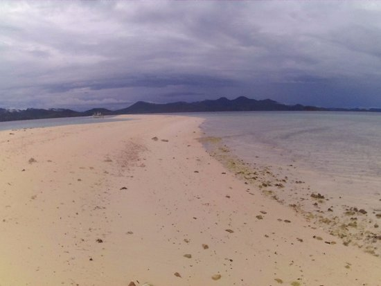 "Culion, Filippinene: ""sand bar"""