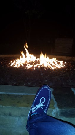 Boerne, TX: Enjoying our night by the pit