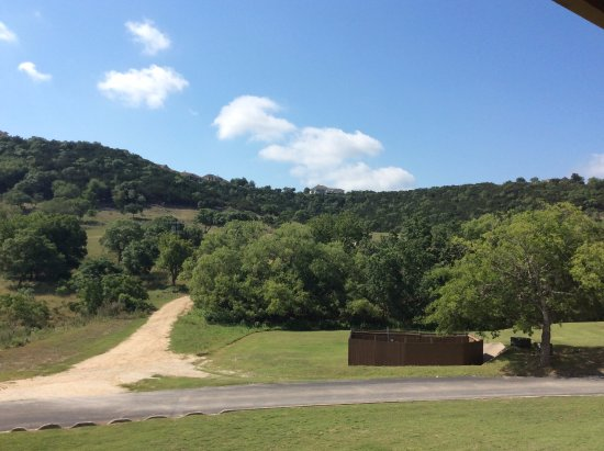 Boerne, TX: View from our room