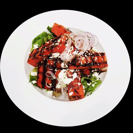 Olean, Nowy Jork: Grilled Watermelon Salad