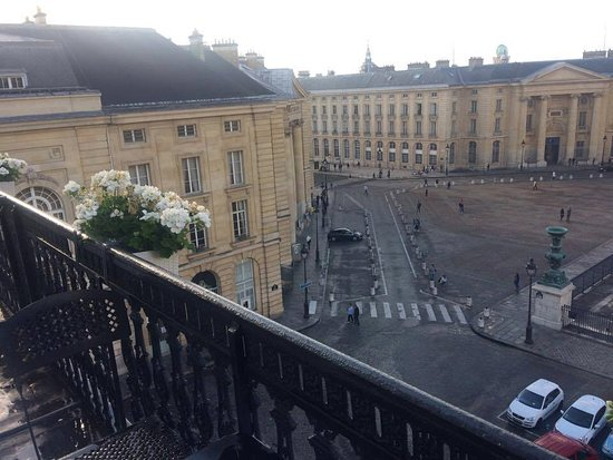 Hotel des Grands Hommes: Superior Double Room, Balcony View