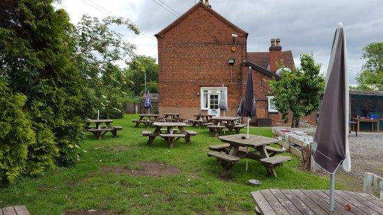Alvechurch, UK: View across beer garden
