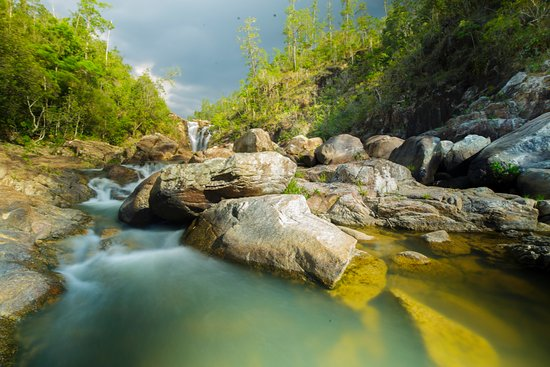 San Antonio, Belize: Waterfalls