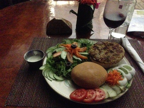 Kosrae, Federated States of Micronesia: Dinner special on another night: Hamburger special.