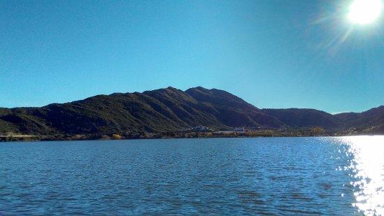 Parque Nativo: Dique Potrero de los Funes desde hidropedal
