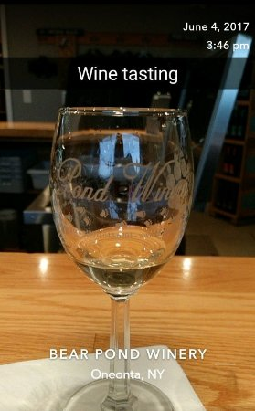 Oneonta, NY: Wine tasting