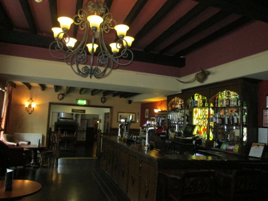 Piercebridge, UK: Bar area.