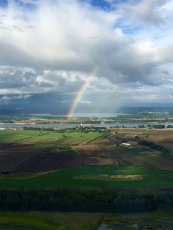 Hillsboro, OR: One of several beautiful rainbows on a perfect day!