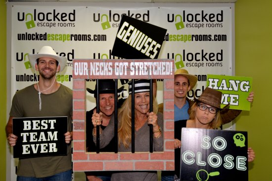 ​Unlocked Escape Rooms