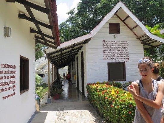 Aracataca, Colombia: Sur le site du musée