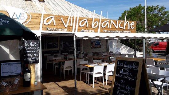Restaurant La Villa Blanche La Rochelle