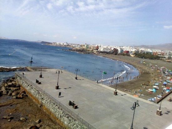 Telde, España: Playa de Melenara