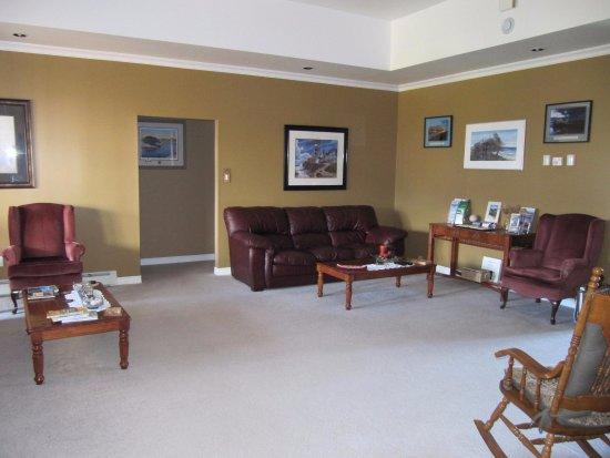 Cow Head, Canada: living room