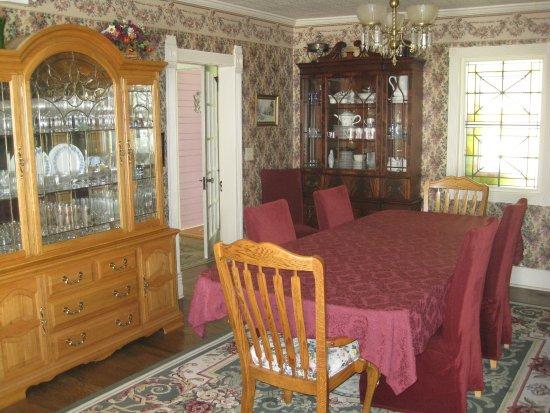 Oak Hill Country Inn: Dining area / breakfast