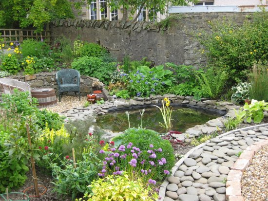 Selkirk, UK: One part of private garden