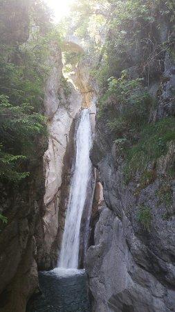 Tatzwurm Wasserfall