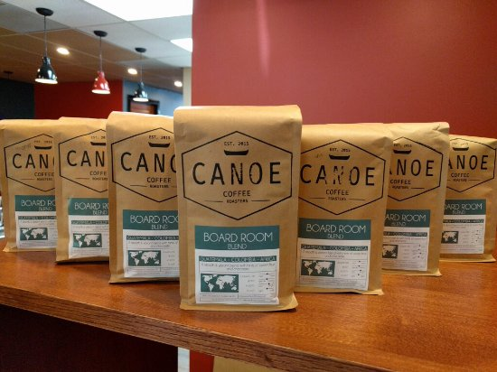 Grand Forks, Canada: Our exclusive blend courtesy of Canoe Coffee Roasters.