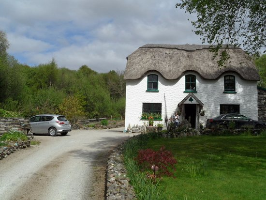 Lissyclearig Thatched Cottage: Zufahrt