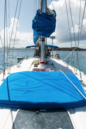 Cloud 9 Sailing Adventures: Sit and relax on the front of the boat
