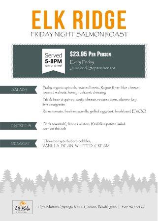 Carson, WA: Friday Special
