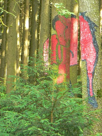 Schwindegg, Deutschland: Wald der Bilder