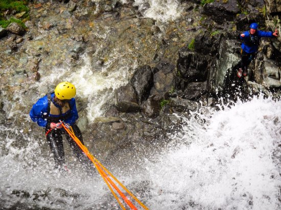 Cockermouth, UK: Abseils in our Canyon Extreme