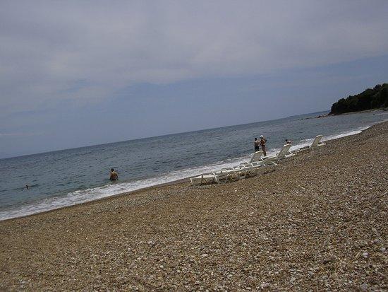 Petalidi, Grækenland: sten strand