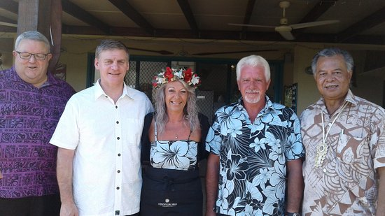 Tuoro Restaurant & Cafe: A honour to have Cook Islands Prime Minister & New Zealand Prime Minister for a special breakfas