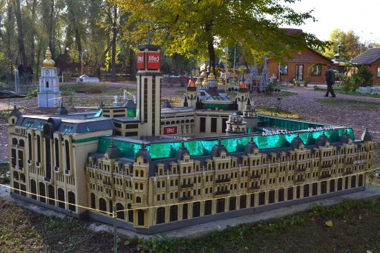 Kyiv in Miniature Museum