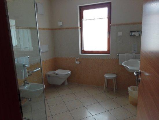 Cristallo Hotel: Bagno