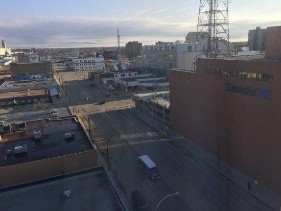 Hilton Garden Inn Saskatoon Downtown: View from the room.