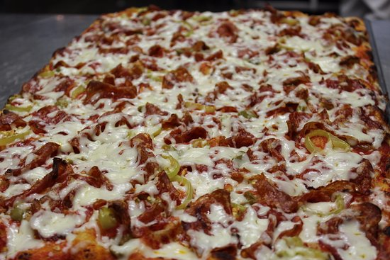 Woodbridge, Canada: Calabrese - Hot salami, banana peppers and green olives
