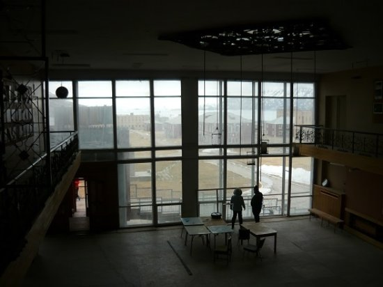 Polar Charter: View from the old cultural centre