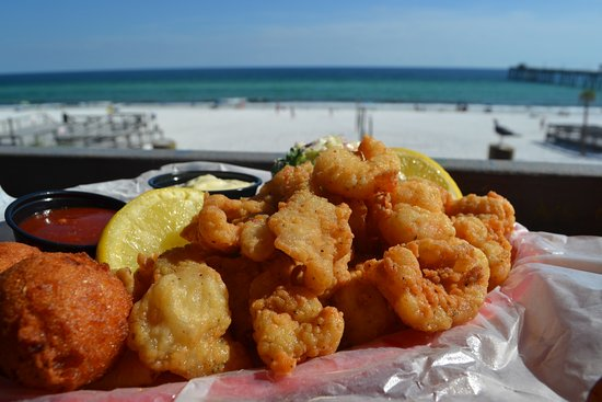 Our Favorite for Seafood in FWB - Review of Floyd's Shrimp