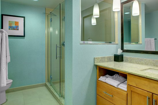 HYATT house Fort Lauderdale Airport & Cruise Port: Bathroom