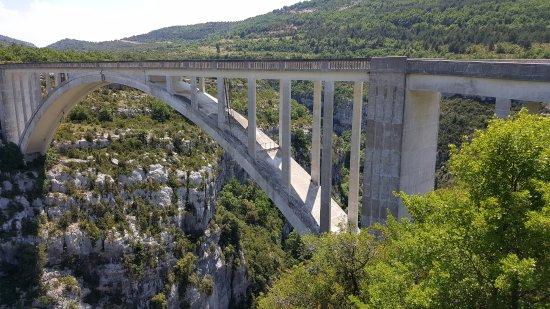 La Palud sur Verdon, Francia: pont de l'artuby