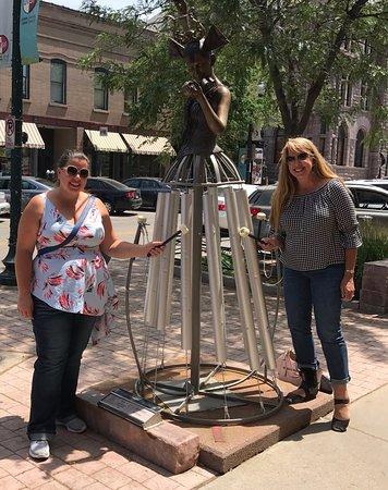 SculptureWalk Sioux Falls: Musical Chimes