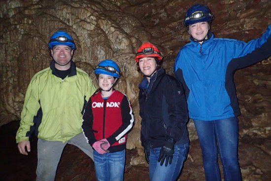 Horne Lake Caves Provincial Park: Great family memory