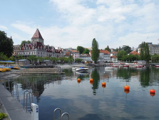 picture of le port d 39 ouchy lausanne tripadvisor. Black Bedroom Furniture Sets. Home Design Ideas