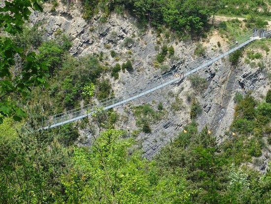 Treffort, France: Les passerelles hymalayennes