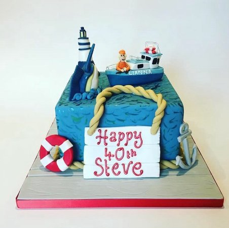 Miraculous 40Th Birthday Cake Picture Of Enjoy Cakes Cafe Billericay Funny Birthday Cards Online Inifofree Goldxyz