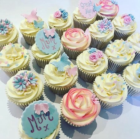 Pretty Cupcakes Picture Of Enjoy Cakes Cafe