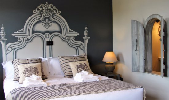 The French Rooms: The 'Manoir' bedroom at MAISON - our sister property.