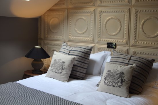 The French Rooms: The Parisian bedroom at MAISON - our sister property.